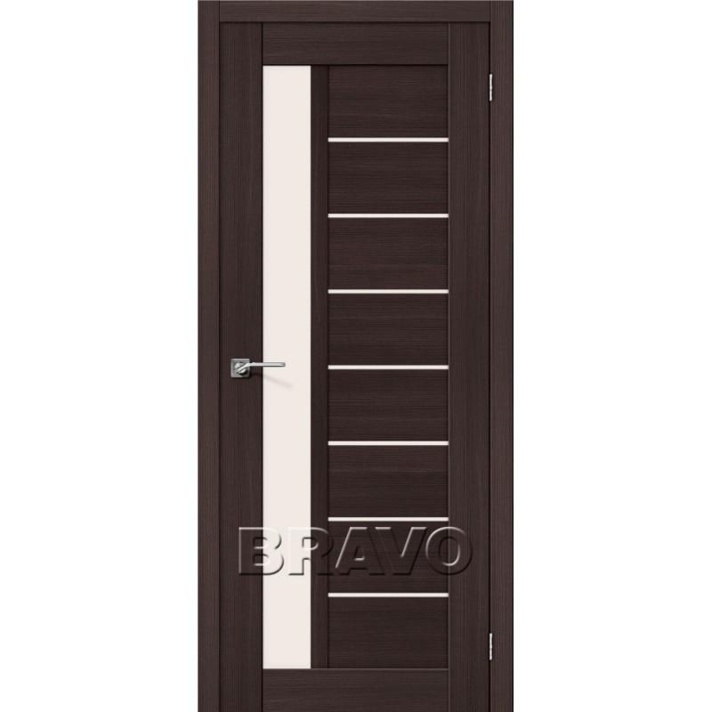 Межкомнатная Дверь Экошпон Порта-27 Wenge Veralinga