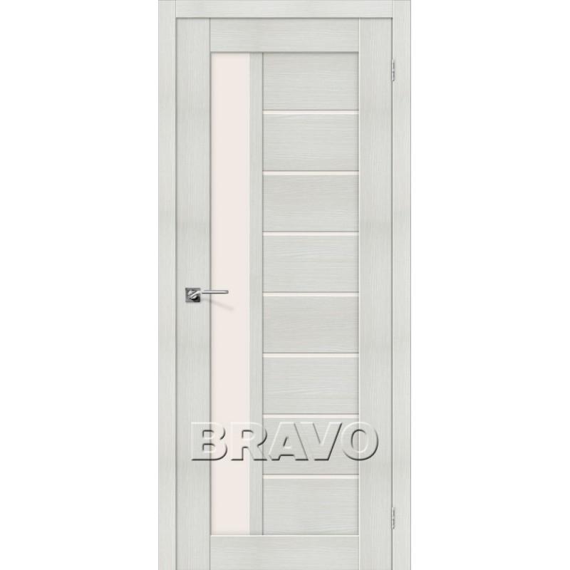 Межкомнатная Дверь Экошпон Порта-27 Bianco Veralinga