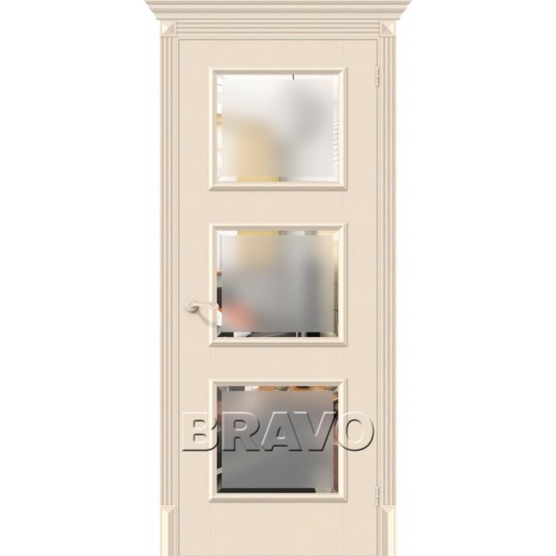 Межкомнатная Дверь Экошпон Классико-17.3 Ivory