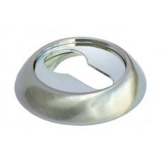 MORELLI Накладка на цилиндр MH-KH Белый никель/хром SN/CP