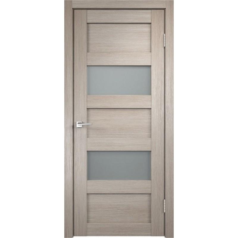 Межкомнатная VellDoris Дверь с четвертью Trend 2 Капучино мателюкс
