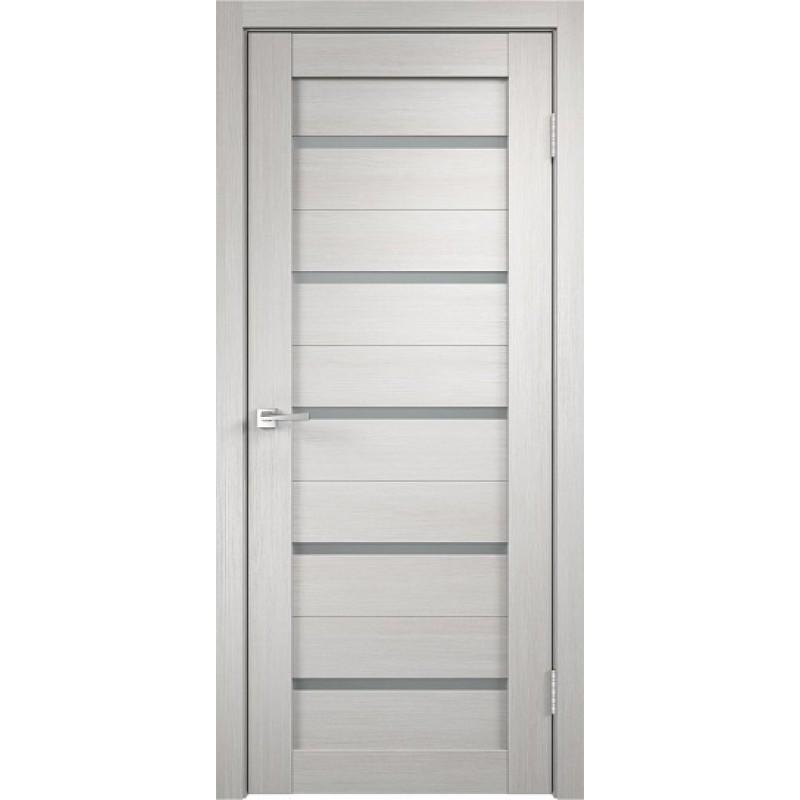 Межкомнатная VellDoris Дверь с четвертью Duplex Дуб белый мателюкс