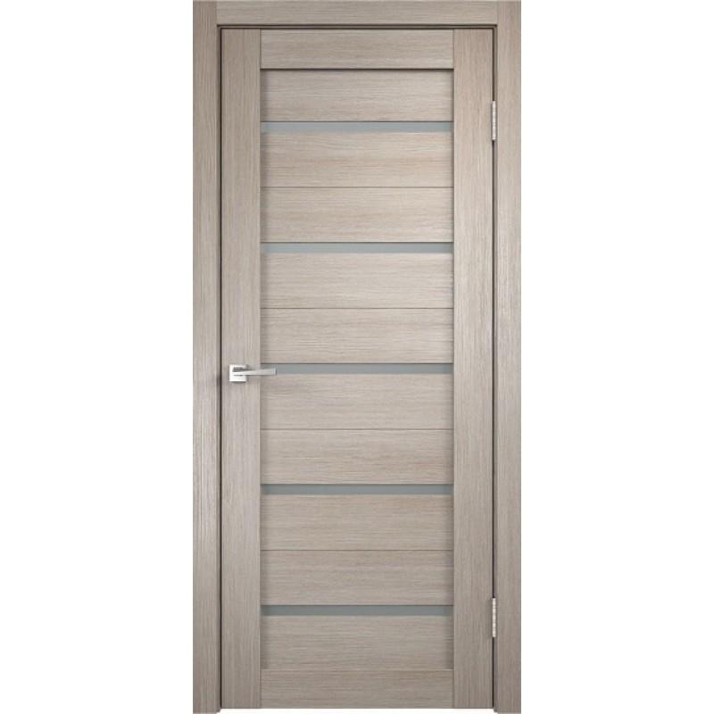 Межкомнатная VellDoris Дверь с четвертью Duplex Капучино мателюкс