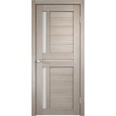 VellDoris Дверь с четвертью Duplex 3 Капучино лакобель