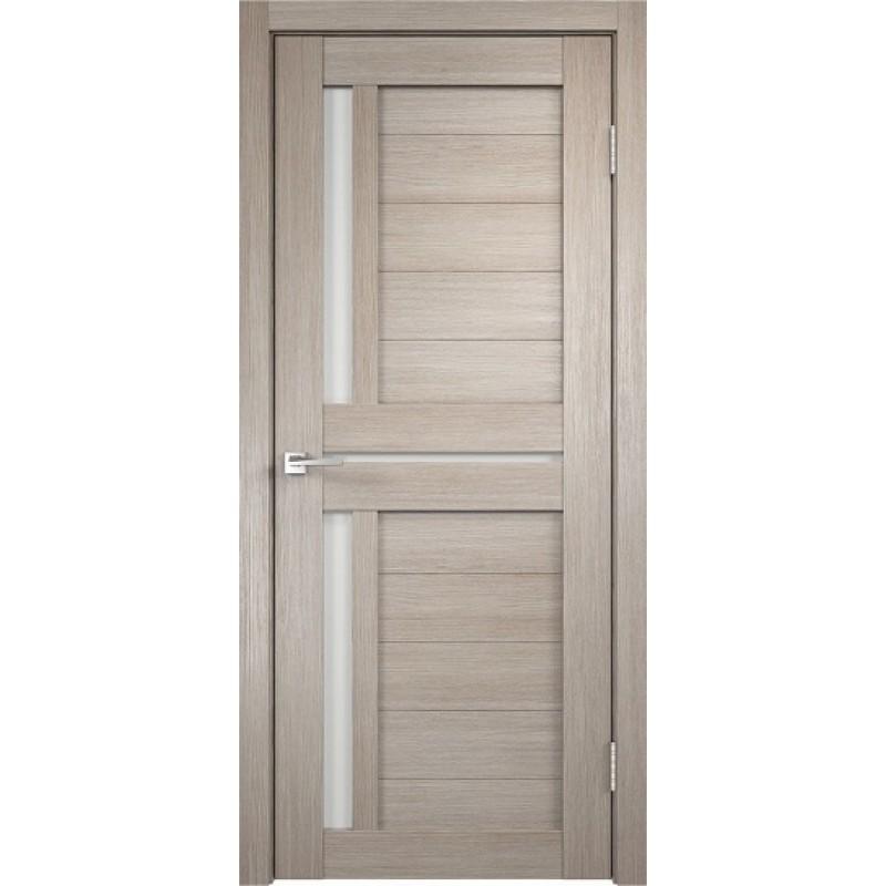 Межкомнатная VellDoris Дверь с четвертью Duplex 3 Капучино лакобель