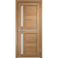 VellDoris Дверь с четвертью Duplex 3 Дуб золотой лакобель