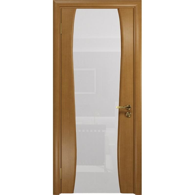 Межкомнатная Дверь DioDoor Портелло-2 анегри белый триплекс
