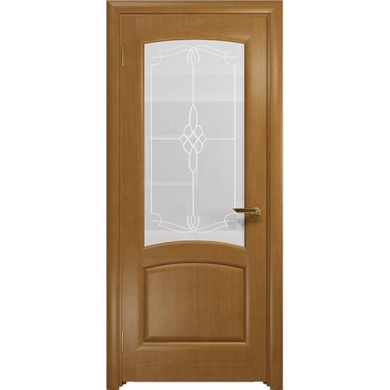 Межкомнатная Дверь DioDoor Ровере анегри белое пескоструйное Корено