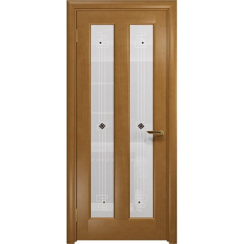 Межкомнатная Дверь DioDoor Тесей анегри белое пескоструйное Ромб