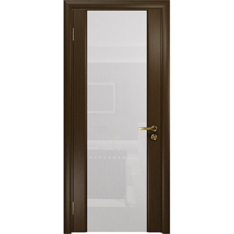 Межкомнатная Дверь DioDoor Триумф-3 венге белый триплекс