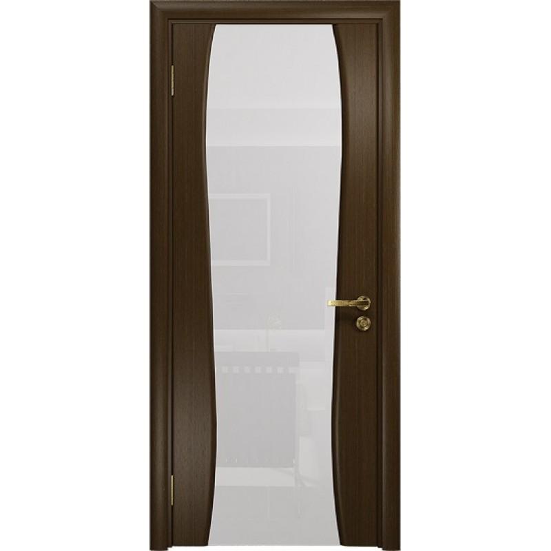 Межкомнатная Дверь DioDoor Портелло-2 венге белый триплекс