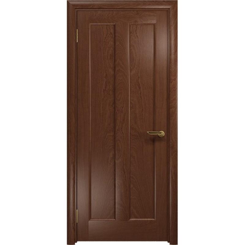 Межкомнатная Дверь DioDoor Тесей красное дерево