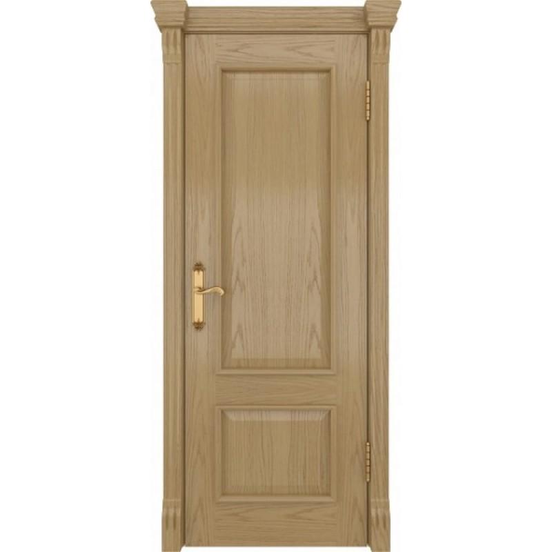Межкомнатная Дверь DioDoor Цезарь-1 дуб светлый