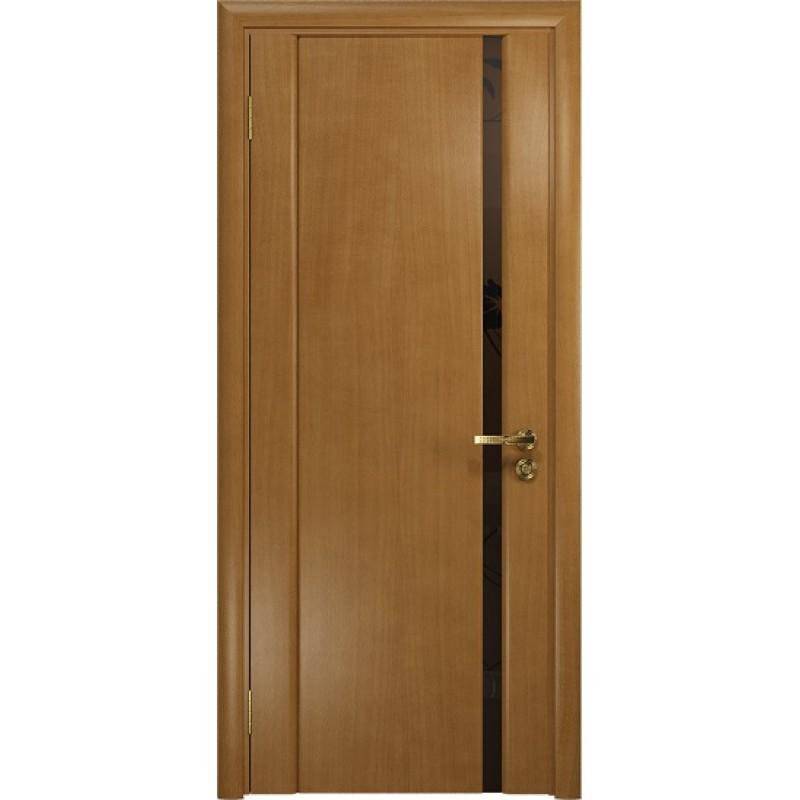 Межкомнатная Дверь DioDoor Триумф-1 анегри чёрный триплекс