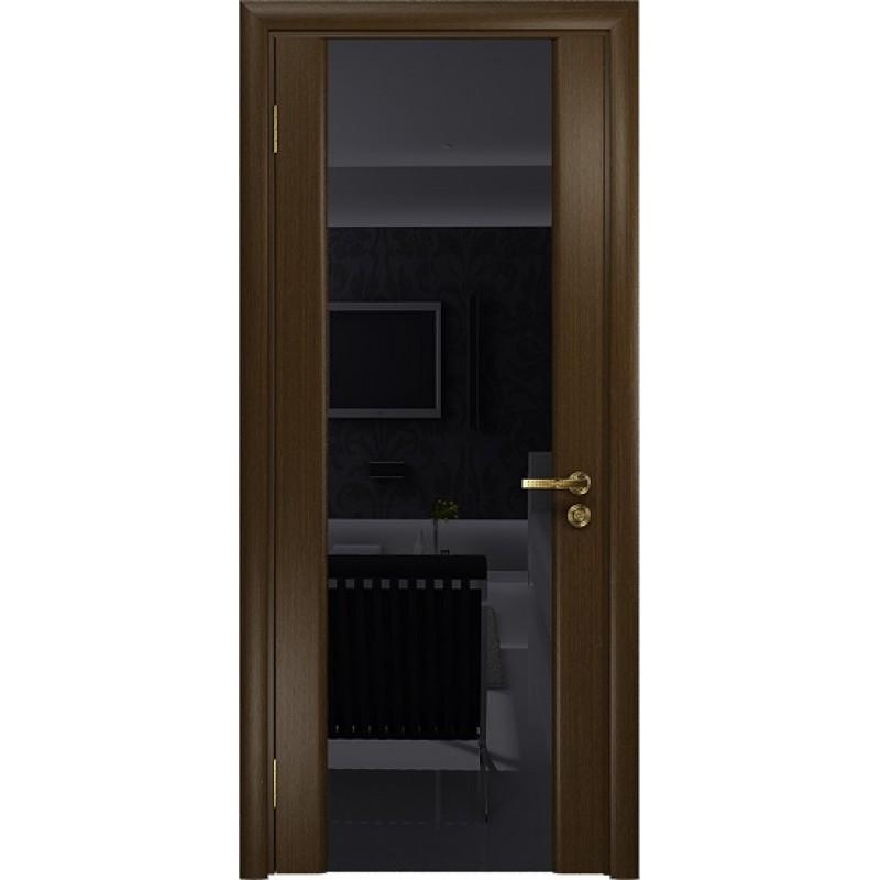 Межкомнатная Дверь DioDoor Триумф-3 венге чёрный триплекс