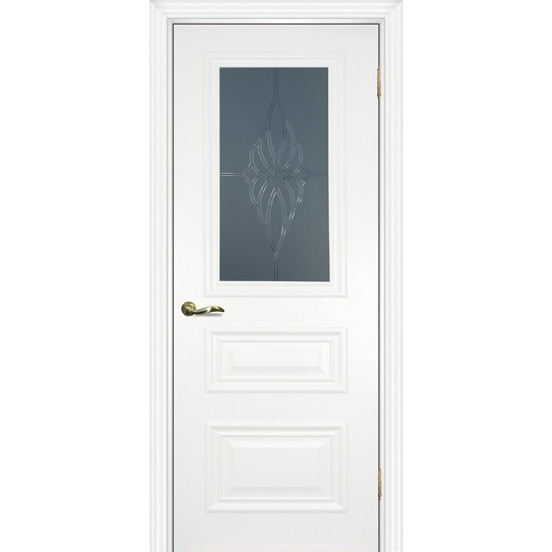 Межкомнатная Дверь МариаМ Классик-2 Белый стекло
