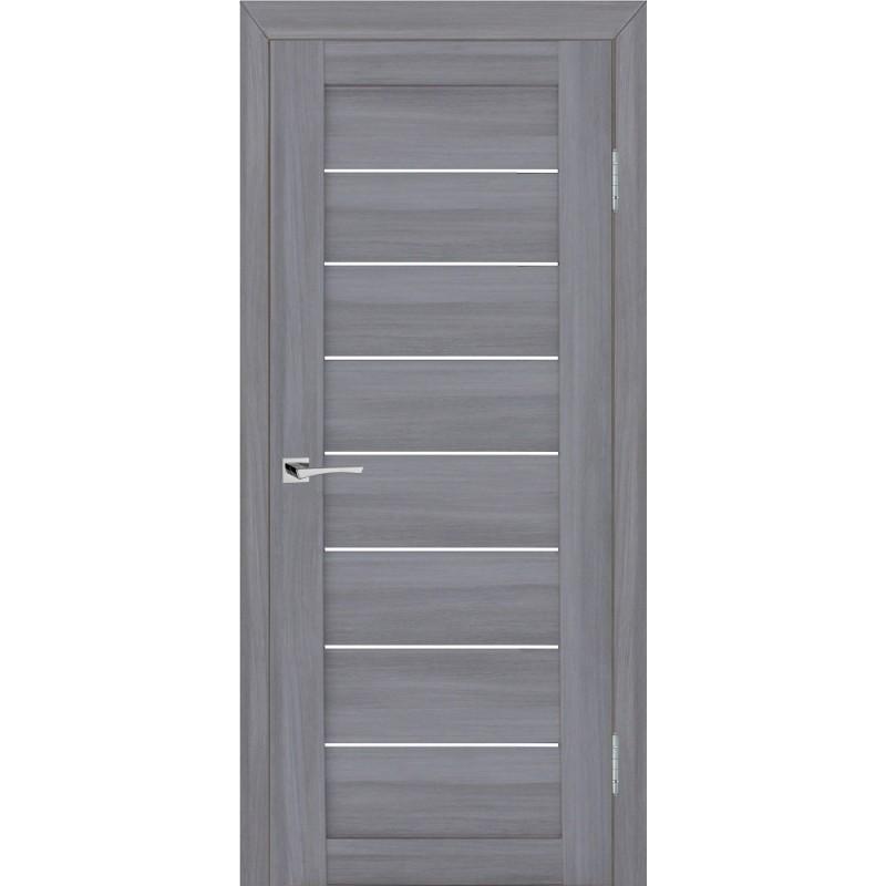 Межкомнатная Дверь МариаМ модель Техно 608 Светло-серый мателюкс