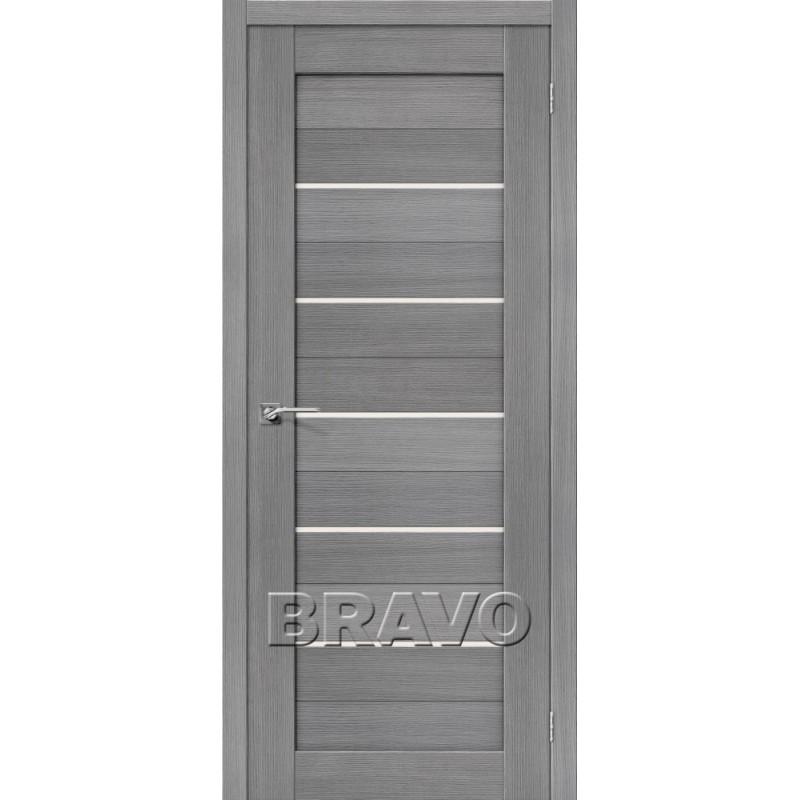 Межкомнатная Дверь Экошпон Порта-22 3D Grey