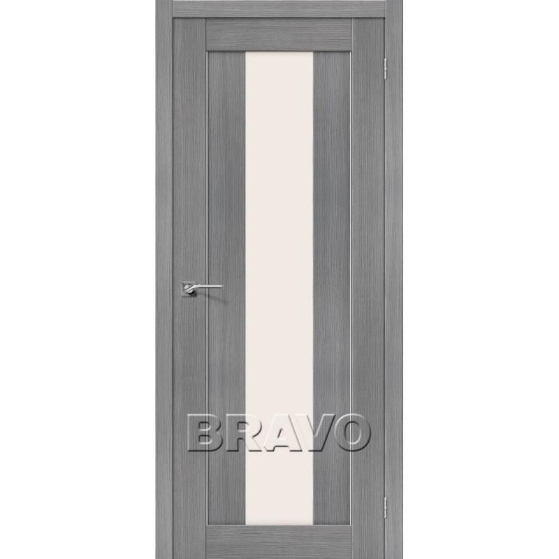 Межкомнатная Дверь Экошпон Порта-25 alu 3D Grey