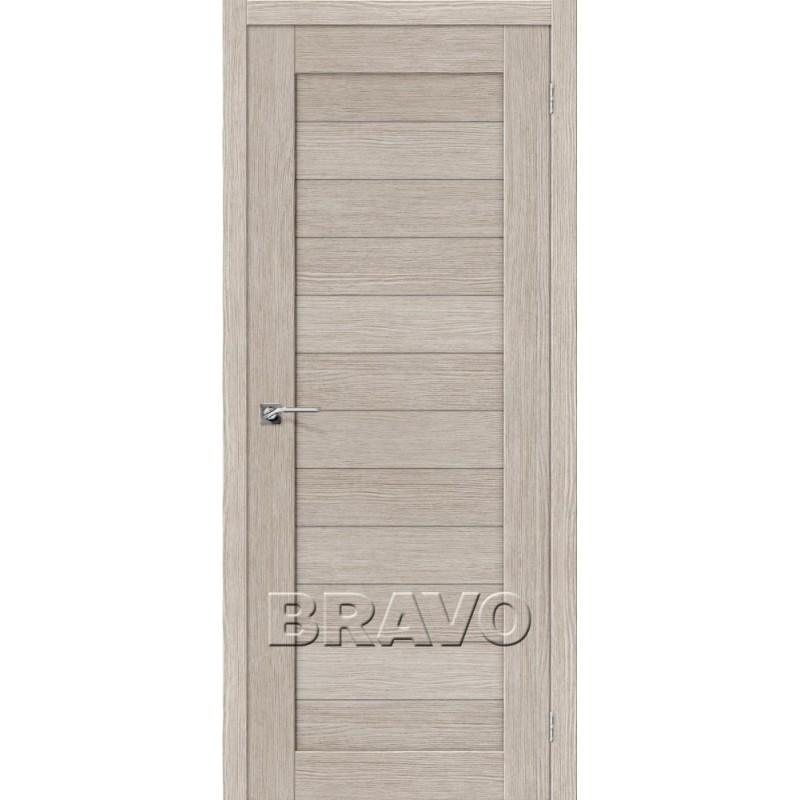 Межкомнатная Дверь Экошпон Порта-21 3D Cappuccino