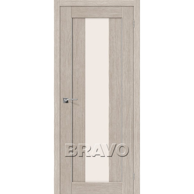 Межкомнатная Дверь Экошпон Порта-25 alu 3D Cappuccino