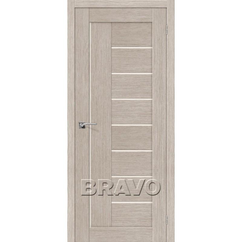Межкомнатная Дверь Экошпон Порта-29 3D Cappuccino