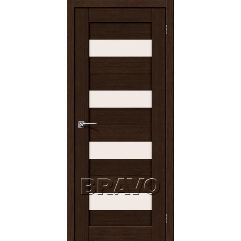 Межкомнатная Двери Экошпон Порта-23 3D цвет венге