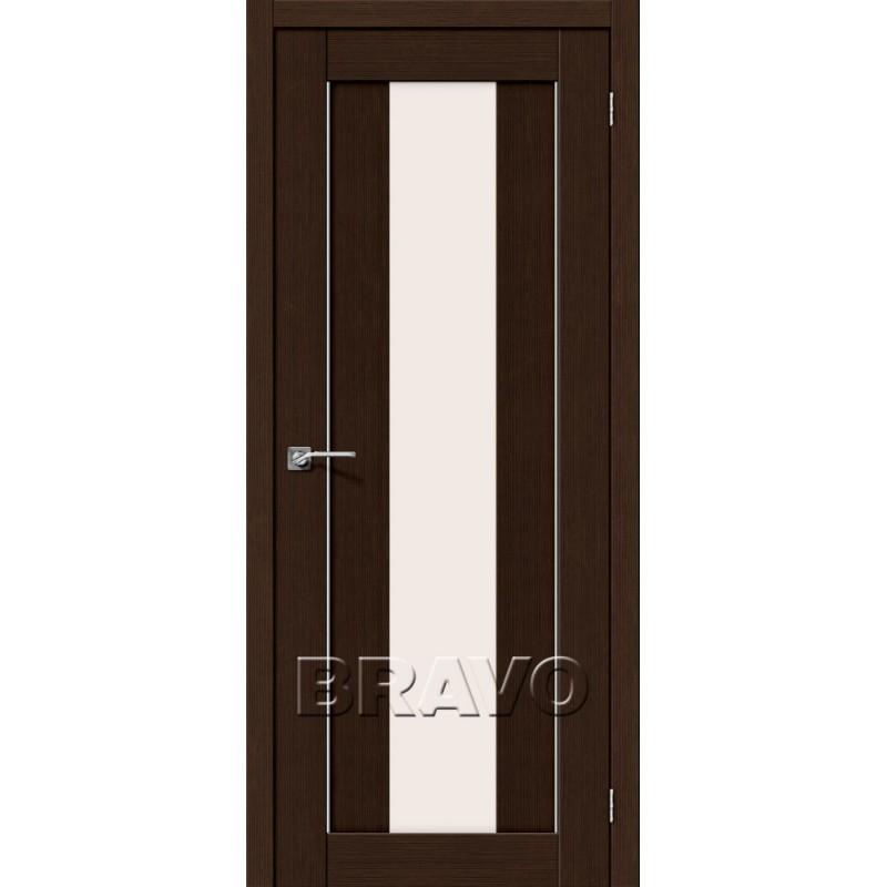 Межкомнатная Дверь Экошпон Порта-25 alu 3D Wenge