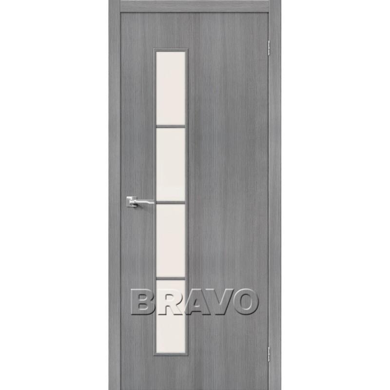 Межкомнатная Дверь Экошпон Тренд-4 3D Grey