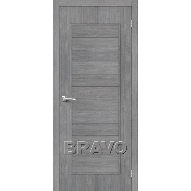 Межкомнатная Дверь Экошпон Тренд-21 3D Grey