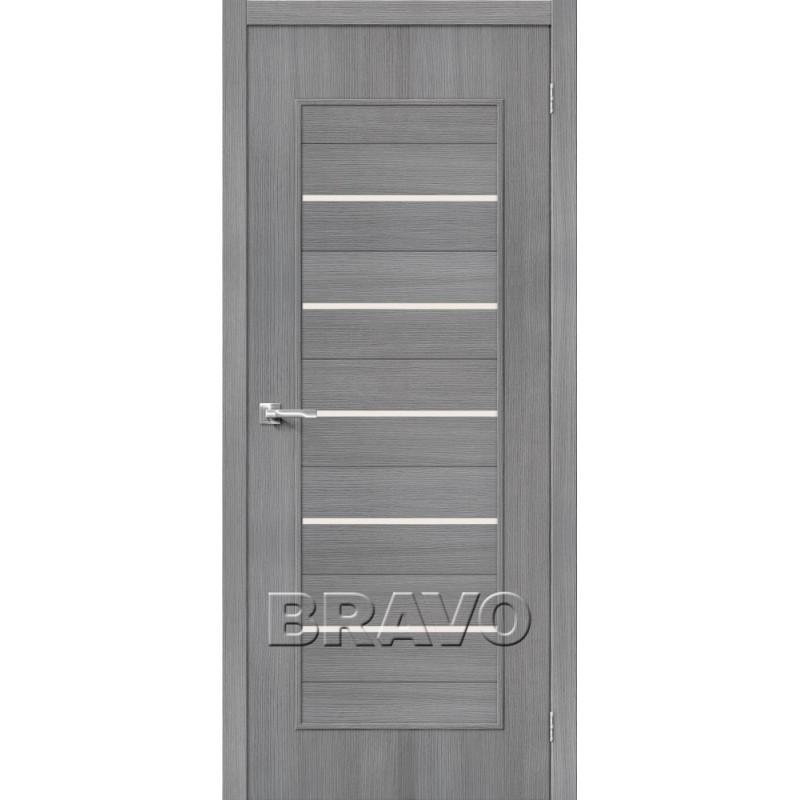 Межкомнатная Дверь Экошпон Тренд-22 3D Grey