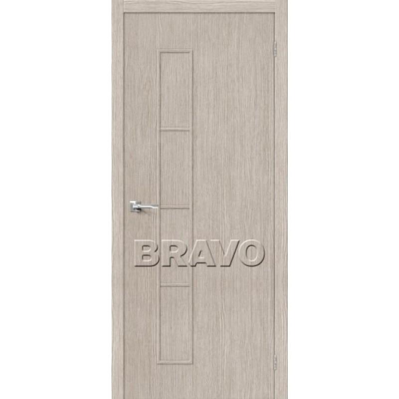 Межкомнатная Дверь Экошпон Тренд-3 3D Cappuccino