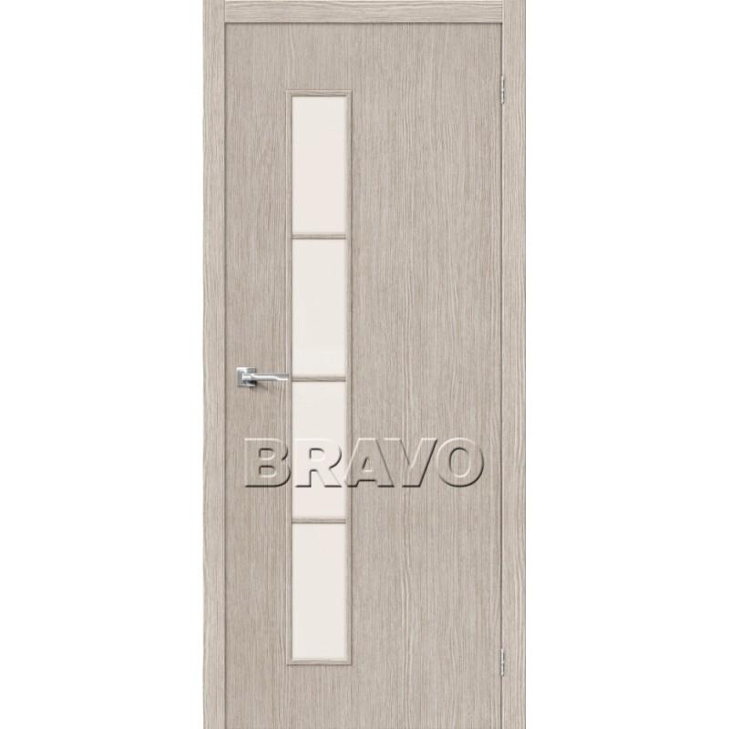 Межкомнатная Дверь Экошпон Тренд-4 3D Cappuccino