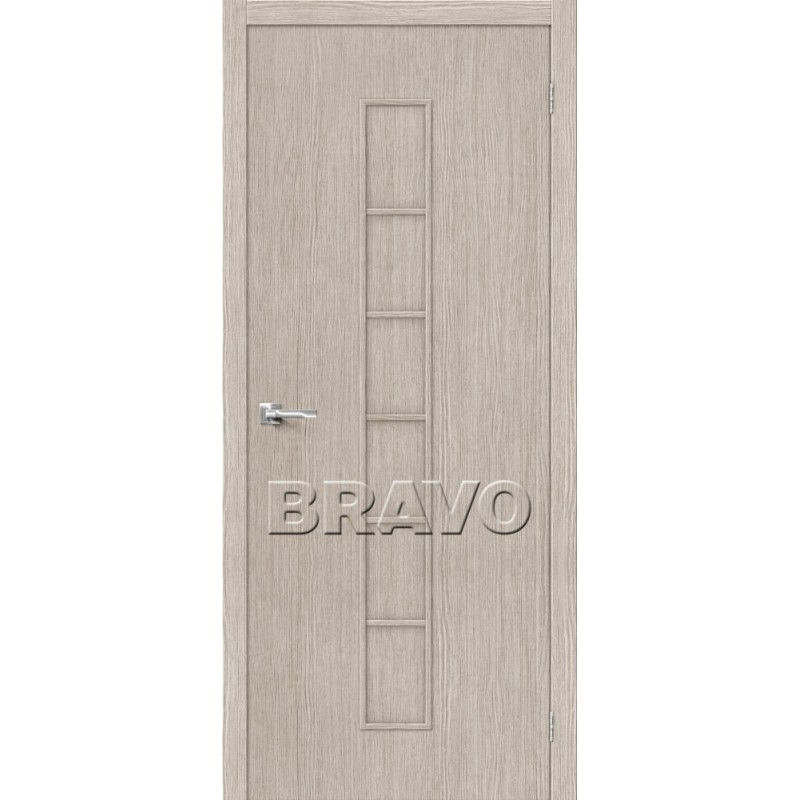 Межкомнатная Дверь Экошпон Тренд-11 3D Cappuccino