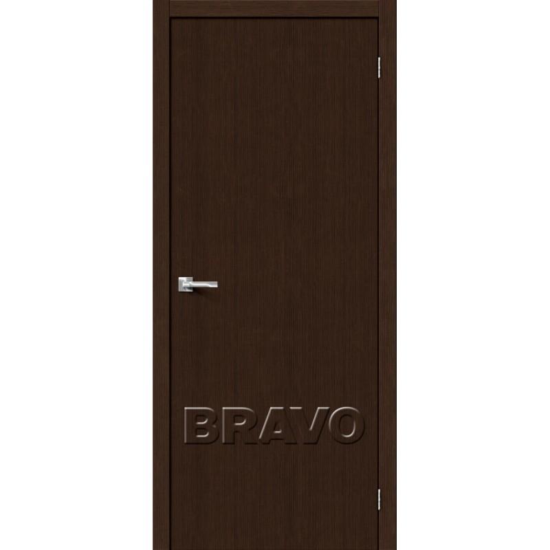 Межкомнатная Дверь Экошпон Тренд-0 3D Wenge