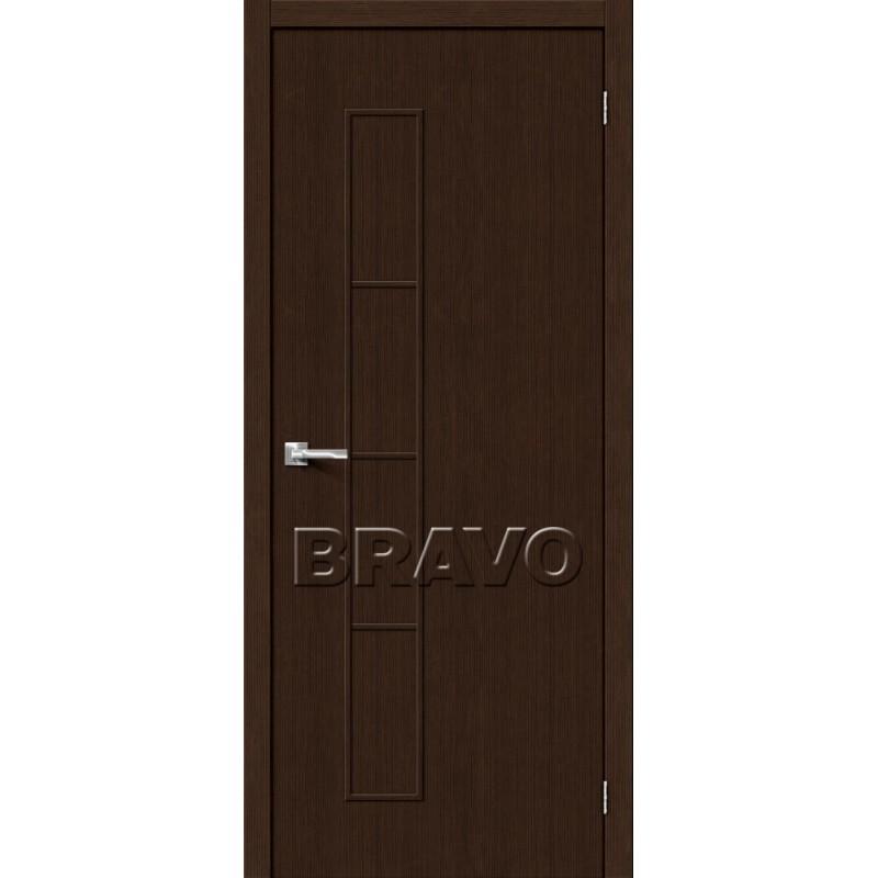 Межкомнатная Дверь Экошпон Тренд-3 3D Wenge