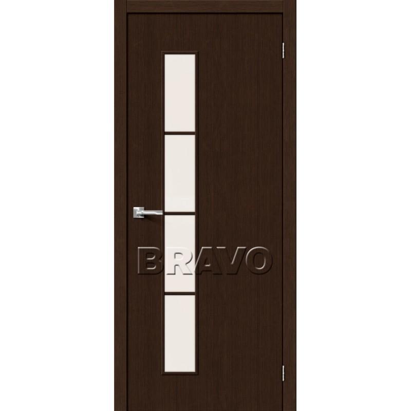Межкомнатная Дверь Экошпон Тренд-4 3D Wenge