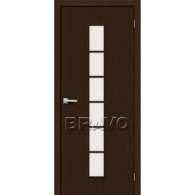 Межкомнатная Дверь Экошпон Тренд-12 3D Wenge