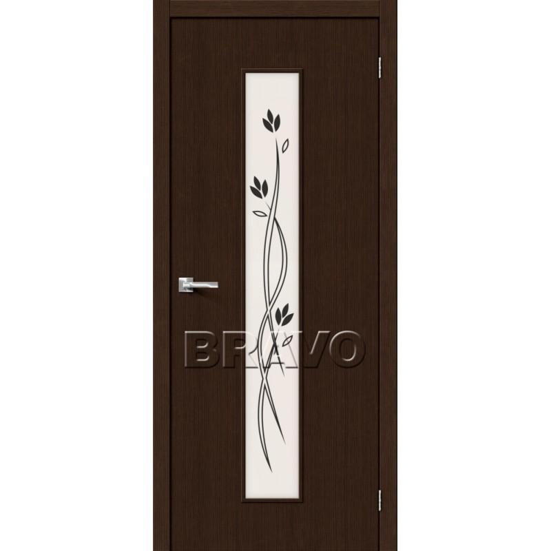 Межкомнатная Дверь Экошпон Тренд-14 3D Wenge