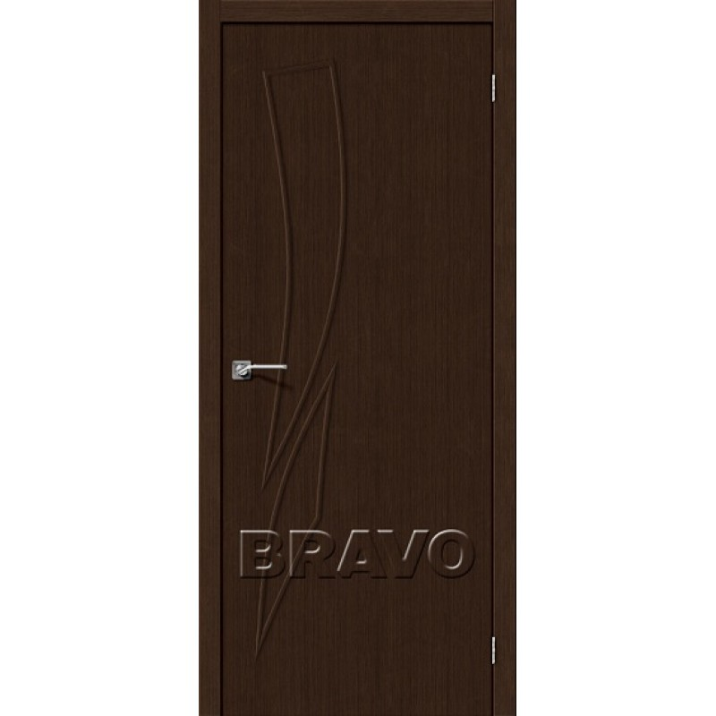 Межкомнатная Дверь Экошпон Мастер-9 3D Wenge