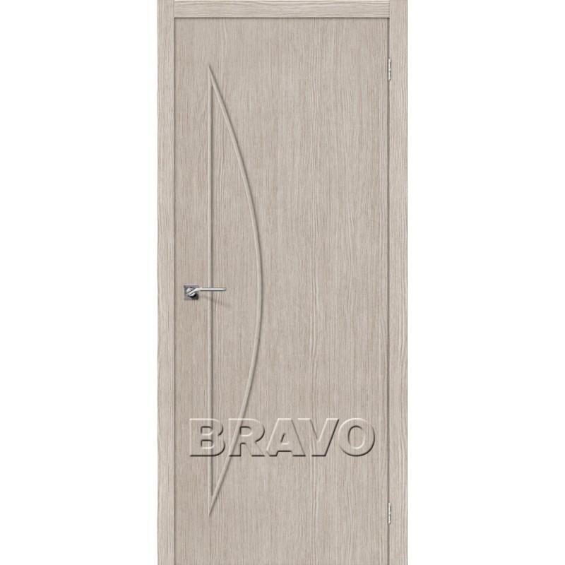 Межкомнатная Дверь Экошпон Мастер-5 3D Cappuccino