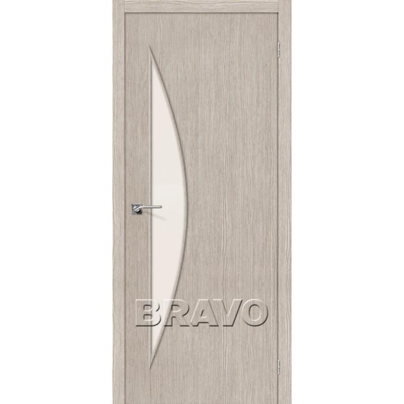 Межкомнатная Дверь Экошпон Мастер-6 3D Cappuccino