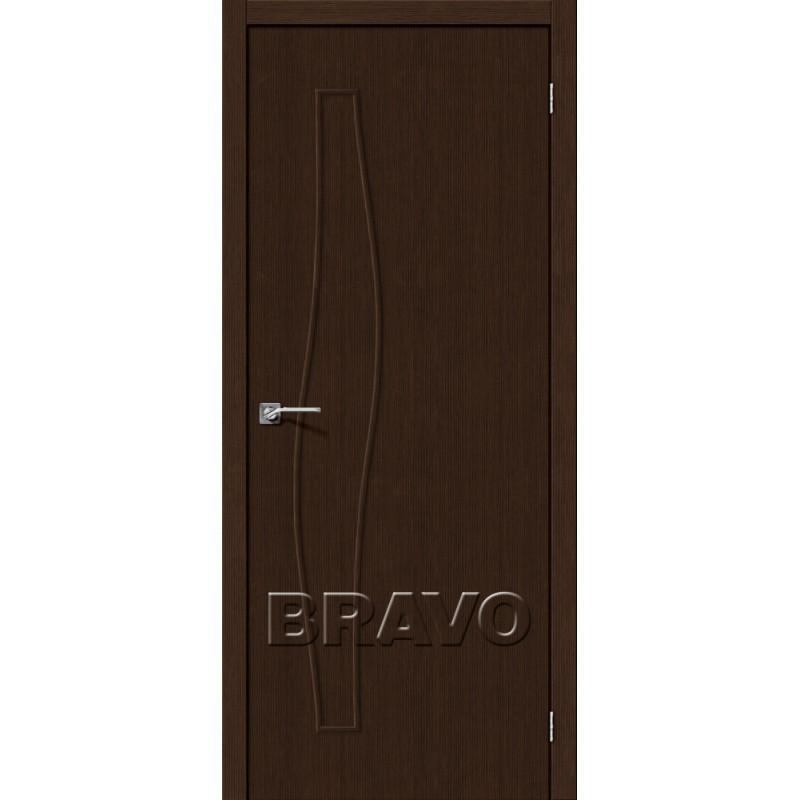 Межкомнатная Дверь Экошпон Мастер-7 3D Wenge