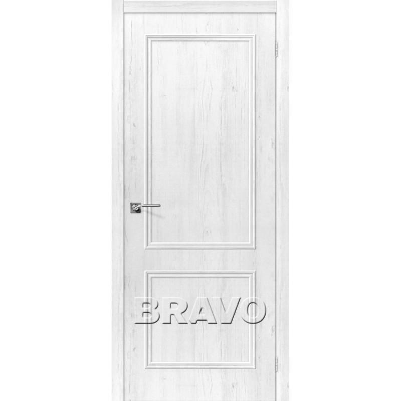 Межкомнатная Дверь Экошпон Симпл-12 3D Shabby Chic