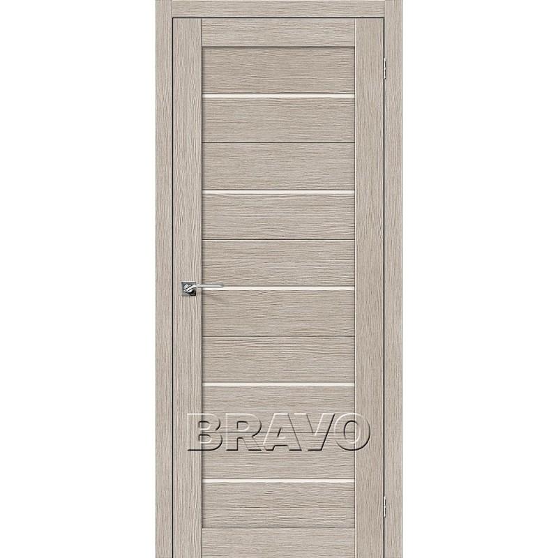 Межкомнатная Дверь Экошпон Свит-22 3D Cappuccino