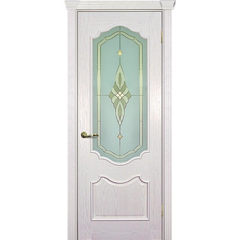 Ульяновская дверь Фрейм 01 ясень айсберг ДО