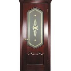 Ульяновские двери Фрейм 01 красное дерево ДО