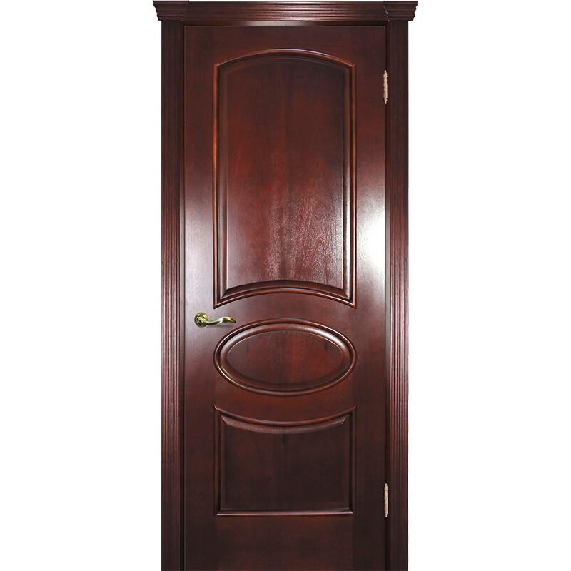 Ульяновская дверь Фрейм 04 красное дерево ДГ