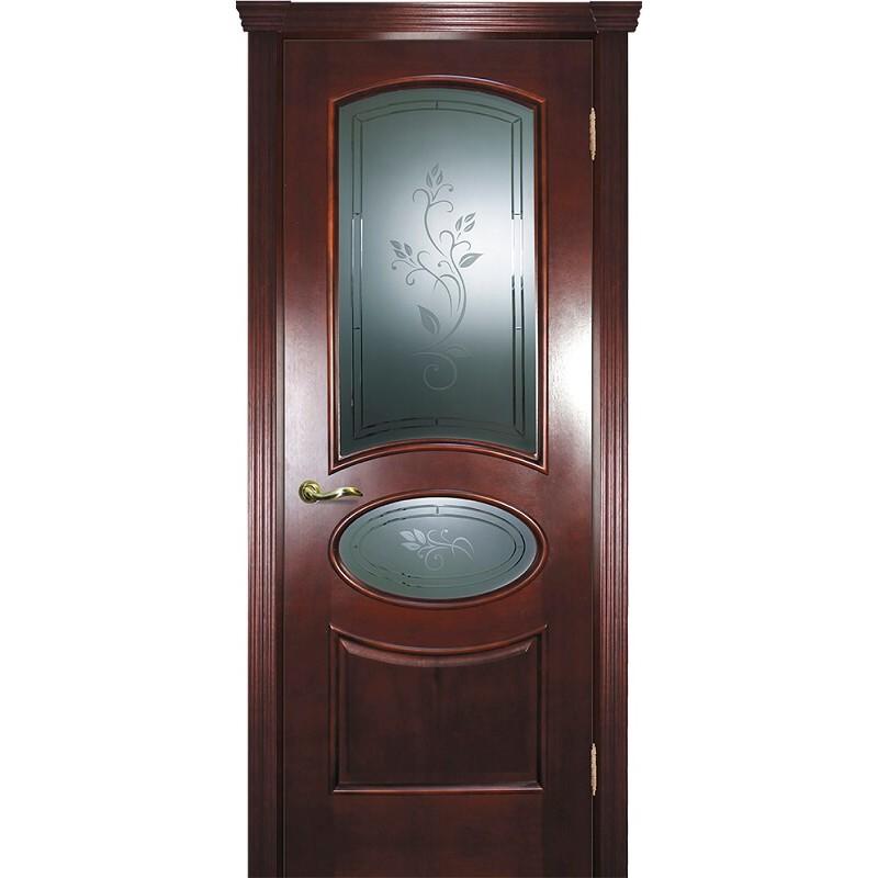 Ульяновская дверь Фрейм 04 красное дерево ДО