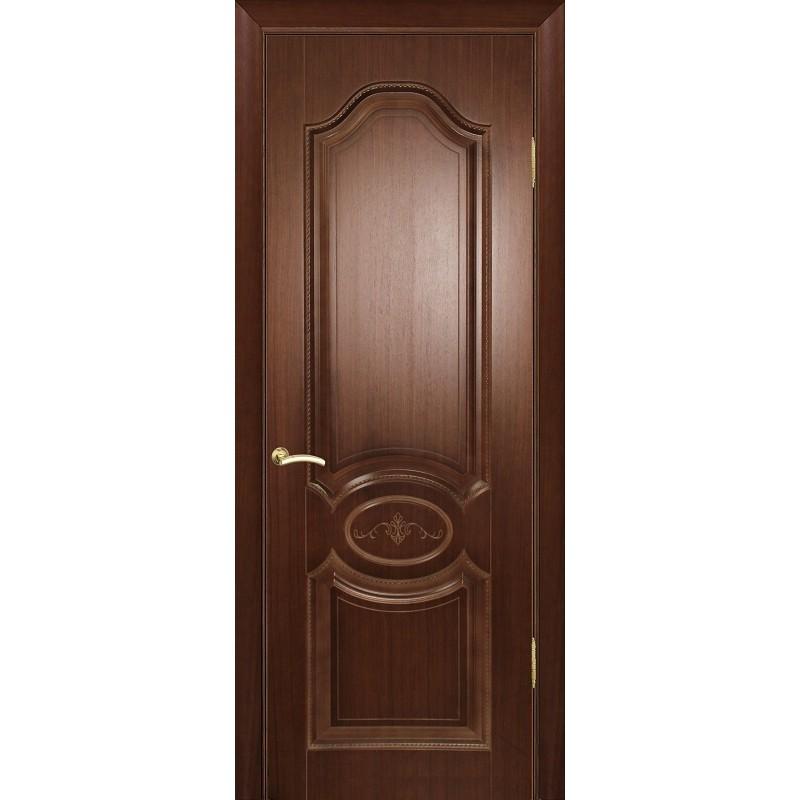 Ульяновская дверь Мулино 04 орех тёмный ДГ